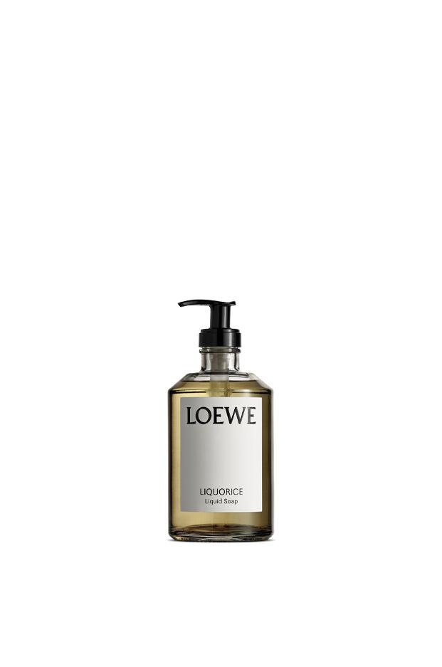 Liquorice liquid soap
