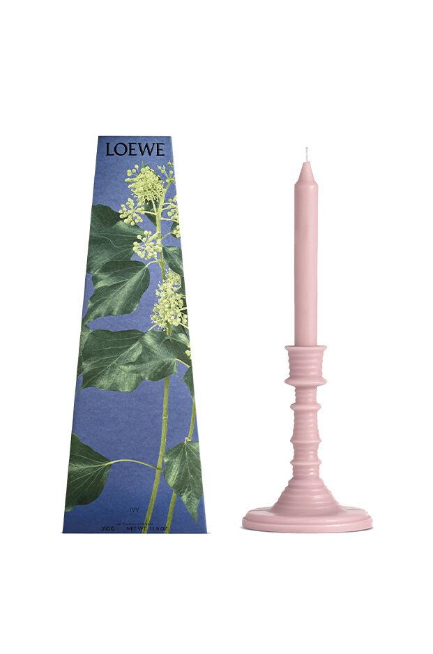 Ivy wax candleholder